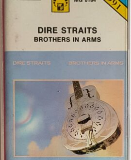DIRE STRAITS  BROTHERS IN ARMS audio cassette