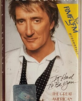 ROD STEWART  THE GREAT AMERICAN SONGBOOK audio cassette