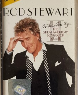 ROD STEWART  THE GREAT AMERICAN SONGBOOK II audio cassette