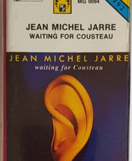 JEAN MICHEL JARRE  WAITING FOR COUSTEAU audio cassette
