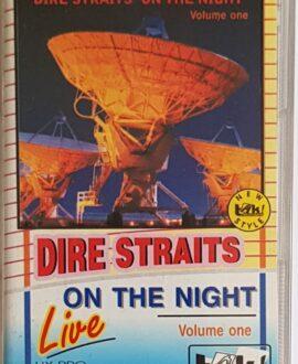 DIRE STRAITS  ON THE NIGHT LIVE vol.1 audio cassette