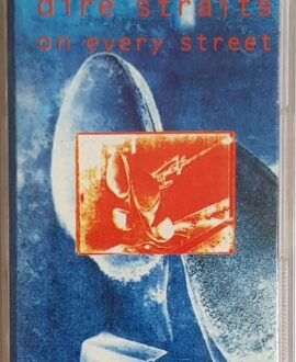 DIRE STRAITS  ON EVERY STREET audio cassette