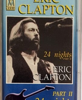 ERIC CLAPTON  24 NIGHTS part II audio cassette