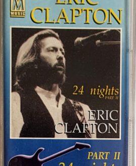 ERIC CLAPTON  24 NIGHTS part II audio cassette