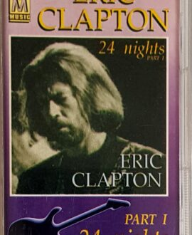 ERIC CLAPTON  24 NIGHTS part I audio cassette