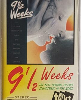 9 1/2 WEEKS  SOUNDTRACK audio cassette