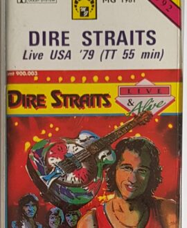 DIRE STRAITS  LIVE USA '79 audio cassette