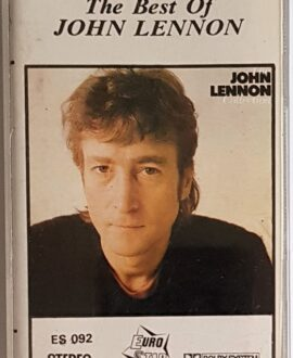 JOHN LENNON  THE BEST OF audio cassette