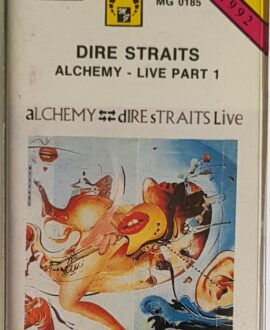 DIRE STRAITS  ALCHEMY LIVE part 1 audio cassette