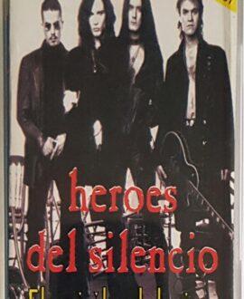 HEROES DEL SILECNCO  EL SPIRITU DEL VINO audio cassette