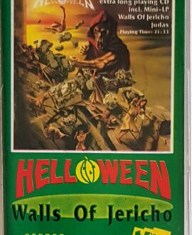 HELLOWEEN  WALLS OF JERICHO audio cassette