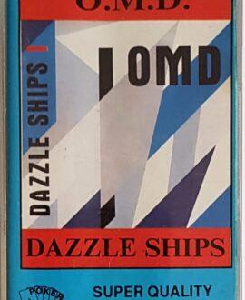O.M.D.  DAZZLE SHIPS audio cassette