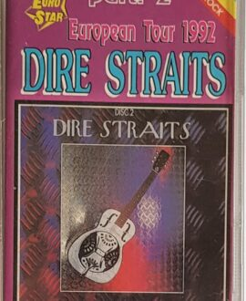 DIRE STRAITS  EUROPEAN TOUR 92 part 2 audio cassette