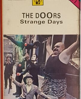 THE DOORS  STRANGE DAYS audio cassette