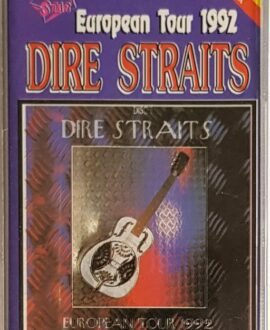 DIRE STRAITS  EUROPEAN TOUR 92 part. 1 audio cassette