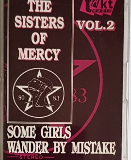THE SISTER OF MERCY  SOME GIRLS WANDER BY MISTAKE vol.2 audio cassette
