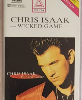 CHRIS ISAAK  WICKED GAME audio cassette