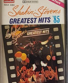SHAKIN' STEVENS  GREATEST HITS '85 audio cassette