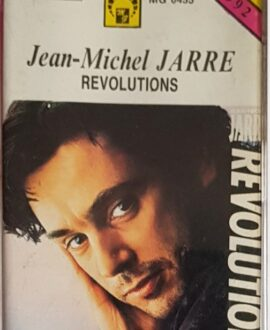 JEAN MICHEL JARRE  REVOLUTIONS audio cassette