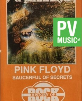PINK FLOYD  SAUCERFUL OF SECRETS audio cassette