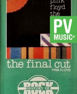 PINK FLOYD  THE FINAL CUT audio cassette