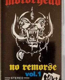 MOTORHEAD  NO REMORSE vol.1 audio cassette