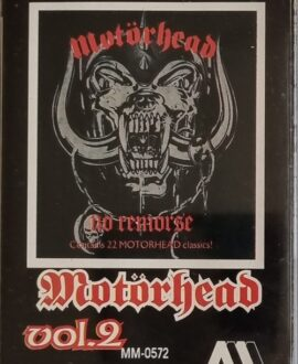 MOTORHEAD  NO REMORSE vol.2 audio cassette