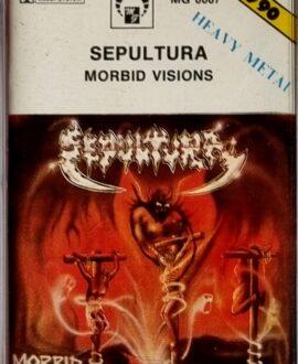 SEPULTURA  MORBID VISIONS audio cassette