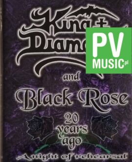 KING DIAMOND AND BLACK ROSE  20 YEARS AGO A NIGHT OF REHEARSAL audio cassette