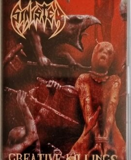 SINSTER  CREATIVE KILLINGS audio cassette