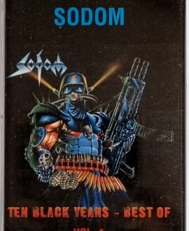 SODOM THE BLACK YEARS - BEST OF vol.1 audio cassette