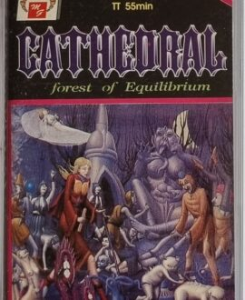 CATHEDRAL  FOREST OF EQUILIBRIUM audio cassette