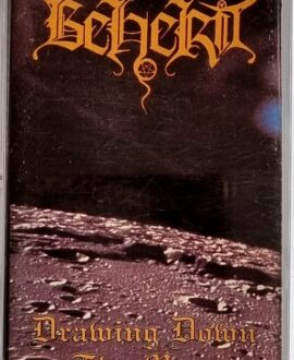 BEHERIT  DRAWING DOWN THE MOON audio cassette