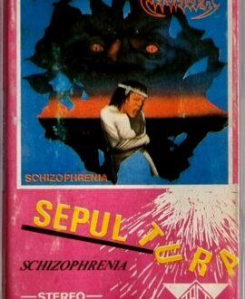 SEPULTURA  SCHIZOPHRENIA audio cassette