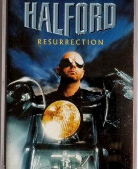 HALFORD  RESURRECTION audio cassette