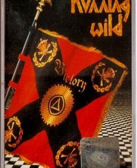 RUNNING WILD  VICTORY audio cassette