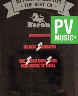 BLACK SABBATH  THE BEST OF audio cassette