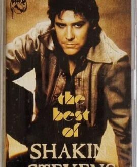SHAKIN STEVENS  THE BEST OF audio cassette