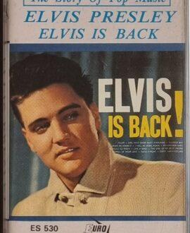 ELVIS PRESEY  ELVIS IS BACK audio cassette