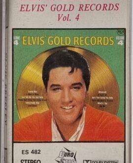ELVIS PRESEY  ELVIS GOLD RECORDS vol.4 audio cassette