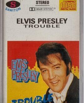 ELVIS PRESLEY  TROUBLE audio cassette