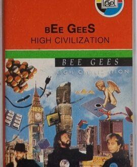 BEE GEES  HIGH CIVILIZATION audio cassette