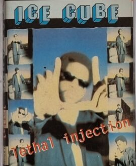 ICE CUBE  LETHAL INJECTION audio cassette