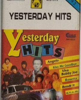 YESTERDAY HITS  ANGELO, ROSETTA..audio cassette