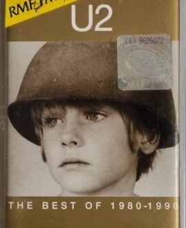 U2  THE BEST OF 1980-1990 audio cassette