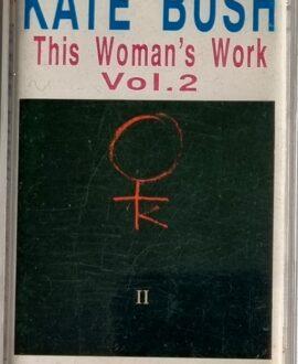 KATE BUSH  THIS WOMAN'S WORK vol.2 audio cassette