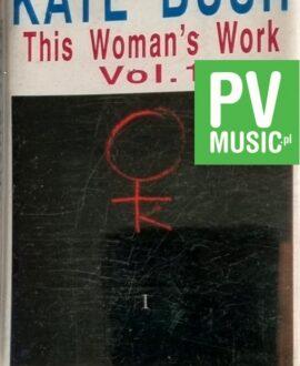 KATE BUSH  THIS WOMAN'S WORK vol.1 audio cassette