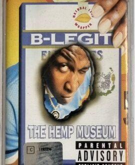B-LEGIT  THE HEMP MUSEUM audio cassette