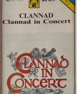 CLANNAD  CLANNAD IN CONCERT audio cassette