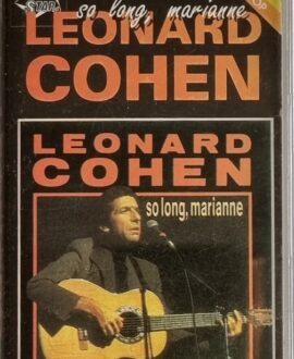 LEONARD COHEN  SO LONG, MARIANNE audio cassette